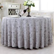 tablecloth white cotton round cotton feel tablecloth white 90 inch
