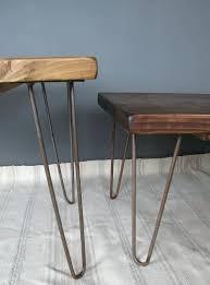 coffee table hairpin legs reclaimed scaffold board hairpin leg coffee table round coffee table hairpin legs