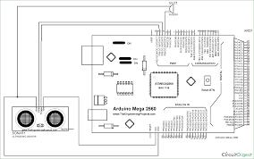 arduino controlled door alarm using ultrasonic sensor codequs com circuit diagram and explanation