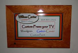 cherry wood frame with lacquer finish