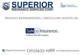 Safeco Insurance Quote Inspiration Superior Insurance Services Now Offers Safeco Insurance Superior
