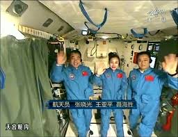 Chinese astronauts arrive at Ieangong 2 space station
