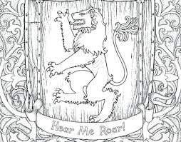 Game Of Thrones Coloring Book Pages Cantierinformaticiinfo