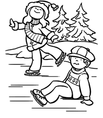Small Picture Winter Coloring Pages Free anfukco