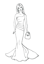 Free Barbie Coloring Pages Barbie Coloring Page Printable Free Pages