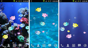 live moving wallpaper for android. Wonderful Wallpaper FishBowl Live Wallpaper Intended Moving For Android