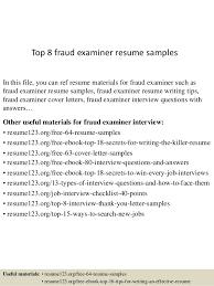 Title Clerk Sample Resume Enchanting Top 44 Fraud Examiner Resume Samples