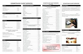 Beauty Salon Price List Templates Nail Art Prices Salons Choice ...