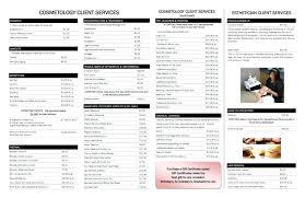 Beauty Salon Price List Templates Nail Art Prices Salons Choice ...