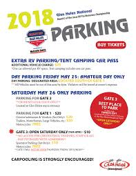 Glen Helen Amphitheater Seating Chart Parking Glen Helen Raceway