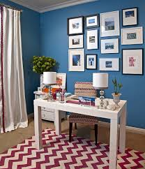 wall decor ideas for office. Home Office Wall Decor Ideas Cool Inspiration Marvelous Stylish In Blue Walls For