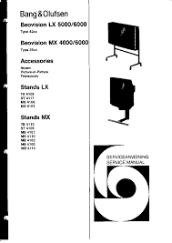 bang olufsen lx 5000 6000 mx 4000 6000 service manual bang olufsen lx 5000 6000 mx 4000 6000 service manual