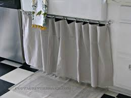 Kitchen Closet Ready Made Curtains Using Curtains As Doors Track Door The