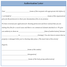 Authorization Letter To Claim Professional Samples Templates