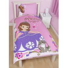 Sofia The First Bedroom Accessories Disney Sofia The First Bedding Single Double Amp Junior Duvet