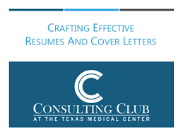 Crafting A Cover Letter 2017 Resume And Cover Letter Workshop