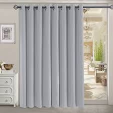 image of rhf thermal insulated blackout patio door curtain panel sliding intended for patio door