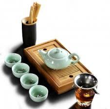 """<b>Чайный набор на 4</b> персоны """"Рыбка"""" - Наборы для чайной ..."""