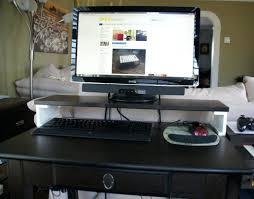 computer desks image how build custom computer desk pc desktop free diy plans hutch build