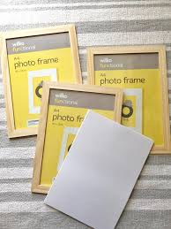 potato printed picture frames that s
