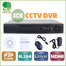 Full D1 H.264 HDMI Security System CCTV DVR 4 Channel Mini Digital Video