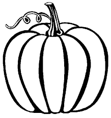 Small Picture Pumpkin coloring page printable