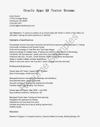 Resume Samples Oracle Apps Qa Tester Resume Sample. quality ...