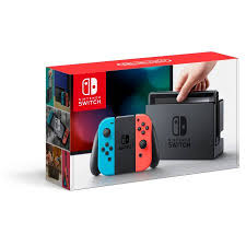 walmart sandusky ohio nintendo switch console with neon blue red joy con hacskabaa