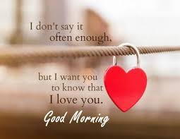 Love Quotes Saying Good Morning