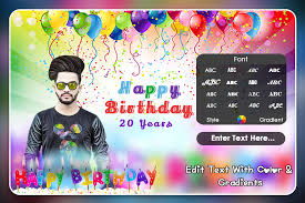 birthday photo frame editor greeting cards pro photoframe zone 0