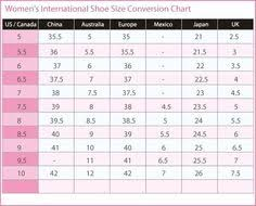 14 Best Sizing Charts Images Knit Socks Socks Crochet