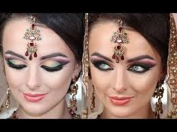 bollywood barbie doll makeup tutorial asian bridal makeup arabic twist real dramatic