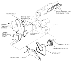 1997 Mazda 626 Exhaust System Diagram