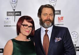 Megan Mullally Nick Offerman Megan Mullally Acquire Movie Rights To Lincoln In