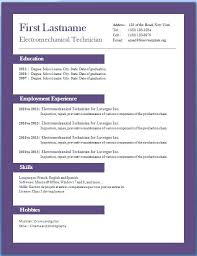 Free Downloadable Resume Templates Microsoft Word Editable Chef