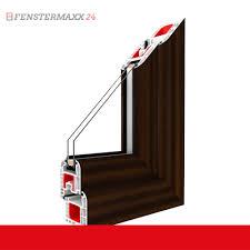 Kunststofffenster Mahagoni Innen Und Außen Dreh Kipp Fenster 1 Flg