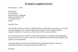 Management Resignation Letter Professional Resignation Letter Resignation Letter Professional