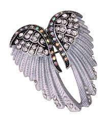 angel jewelry women s crystal angel wings pin brooches pendants silver c917yyrak5k