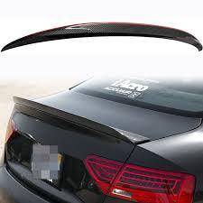 Audi A5 Fog Light Bulb Size Carbon Fiber Trunk Lid Duckbill Cat Style Tail Spoiler Wing