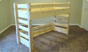 Toddler Bunk Bed Plans Kid Loft Size Kids Beds