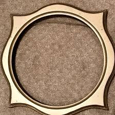 wooden frames plate hanger wall decor