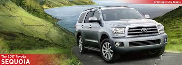 2017 Toyota Sequoia Model Information | Full-Size SUV Research ...