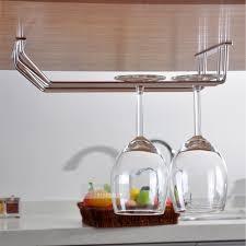 Wine Glass Hangers Under Cabinet Kitchen Stemware Rack Wine Glass Shelf Wine Glass Rack Wall Mount