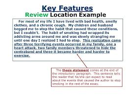 the thesis statement a road map for your essay paragraph essay  9 key