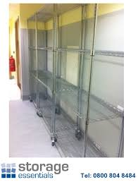 shelf loads up to 300kgs udl shelf pitch every 25mm use castors for mobile units no interfering uprights in corners
