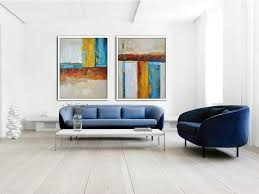 large abstract wall art set of 2 contemporary art on canvas acrylic painting wall art brown  on abstract wall art set of 2 with large abstract wall art set of 2 contemporary art on canvas acrylic