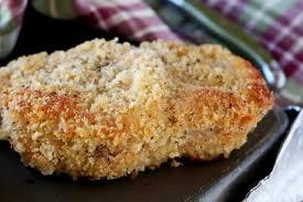 crispy breaded baked pork chops the