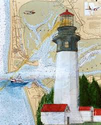Cathy Peek Us Coast Guard Nautical Chart Map Art Wall Art