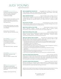 28 Resume Sample For Digital Marketing 10 Samples 2015 Resume