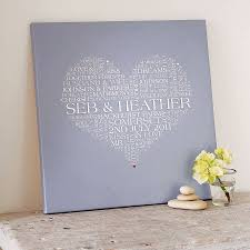 personalised framed wall art uk